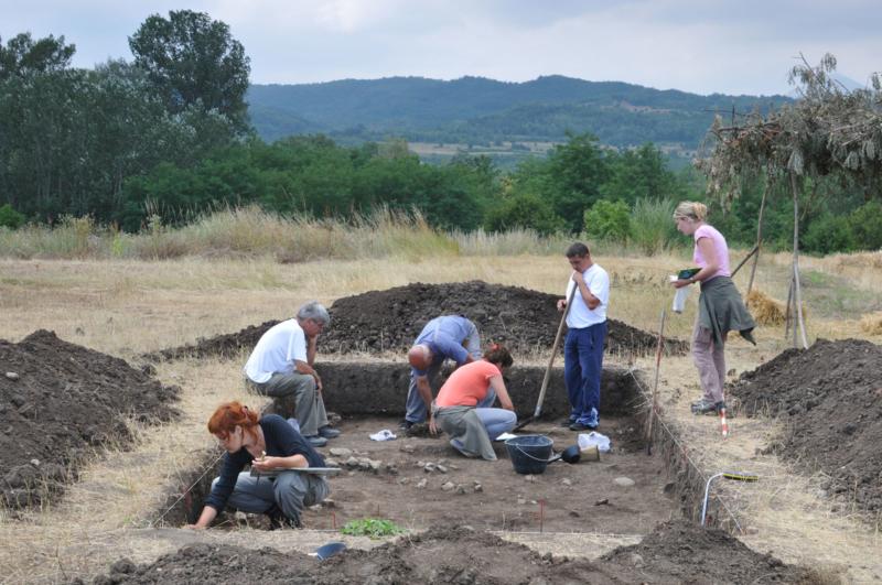 Археолошка ископавања локалитета Шкодрино поље