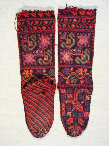 Двопређне чарапе Тимока