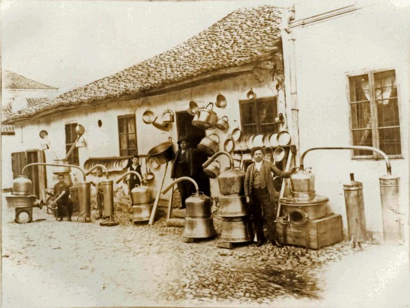 Казанџијска радња у Књажевцу