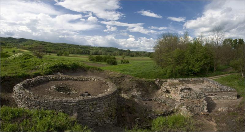 Кружни објекат у утврђењу Timacum Minus