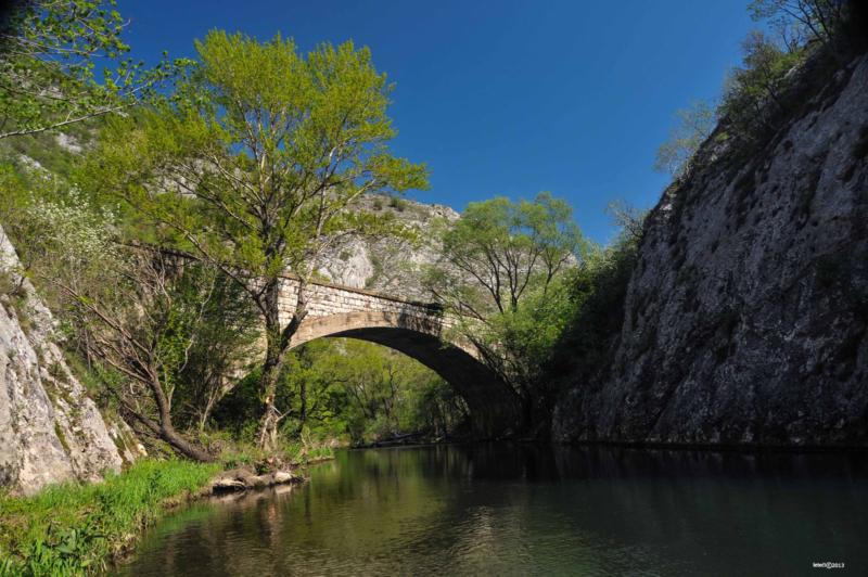 Мост на прузи Књажевац-Ниш