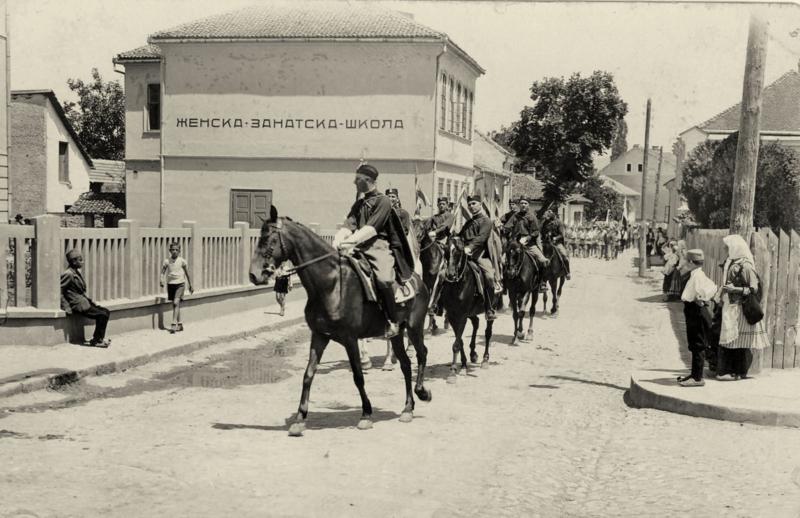Соколска смотра у Књажевцу 30-их година XX века