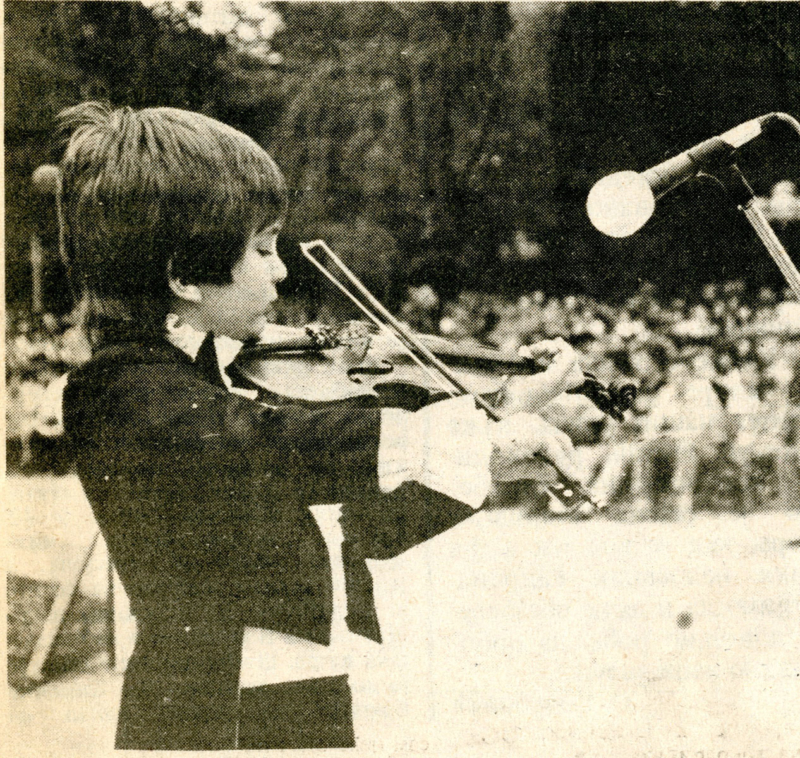 Стефан Миленковић наступа на ФКМС 1984. године