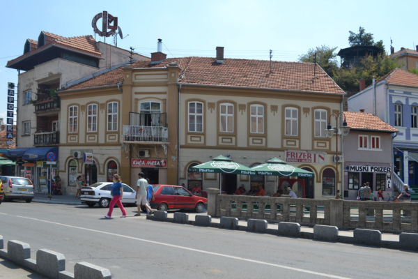 "Зграда у центру некад позната по кафани ""Ђердап"""
